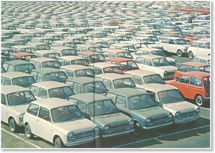 Honda N Series Stock Waiting For Customers