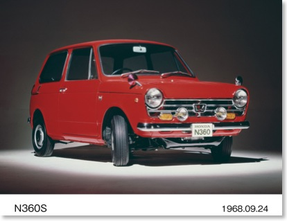 First Came The Honda N360 Then The Honda N600